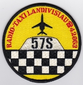 French Naval Aviation Aeronavale Patch 57 S Servitude RadioTaxi