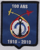 French Naval Aviation Aeronavale Patch 100 Years Anniversary