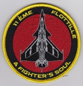 French Naval Aviation Aeronavale Patch 11 F Flotille Soul