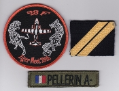French Naval Aviation Aeronavale Patch 28 F Flotille Tiger Meet