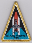 French Naval Aviation Aeronavale Patch 57 S Servitude Shuttle