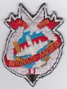 RNoAF Patch Royal Norwegian Air Force 333 Skv Squadron P 3 Avs