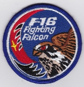 ROKAF Patch Republic Of Korea Air Force 19 Fighter Wing F 16