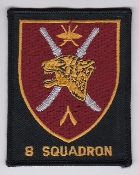 SOAF Patch Sqn Sultan Of Oman Air Force 8 Squadron Jaguar