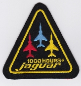 Ecuador Patch Ecuadorian Air Force FAE 2111 Esc Sqn Jaguar 1000