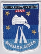 Argentina Patch Argentine Air Force Fuerza Aerea Argentina 9 Bd