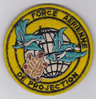 French Air Force ALA Cmd Patch Force Aerienne De Projection FAP