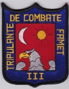 Spanish Patch Army Airmobile Force FAMET III Battallion Combate
