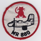 RCAF Patch Sqn Royal Canadian Air Force 880 Squadron Escadron