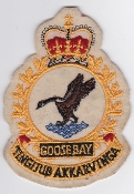 RCAF Patch Stn Royal Canadian Air Force CFB Goose Bay 1970s