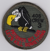 RCAF Patch Sqn Royal Canadian Air Force 405 Squadron Crew 3 Sbd
