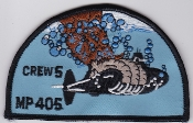 RCAF Patch Sqn Royal Canadian Air Force 405 Squadron Crew 5 Col