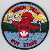 RCAF Patch Sqn Royal Canadian Air Force 407 Sq Escadrille Maint