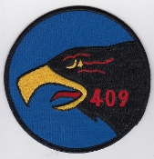 RCAF Patch Sqn Royal Canadian Air Force 409 AWF Squadron F 101 e