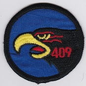 RCAF Patch Sqn Royal Canadian Air Force 409 TFS Sqn Hornet Small