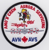 RCAF Patch Sqn Royal Canadian Air Force 405 Squadron AMO B Crew