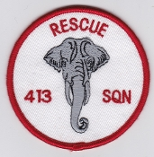 RCAF Patch Sqn Royal Canadian Air Force 413 Trans Rescue Sqn
