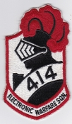 RCAF Patch Sqn Royal Canadian Air Force 414 EW Squadron Voodoo