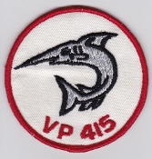 RCAF Patch Sqn Royal Canadian Air Force 415 VP Squadron