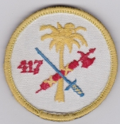 RCAF Patch Sqn Royal Canadian Air Force 417 Squadron Escadrille