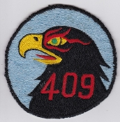 RCAF Patch Sqn Royal Canadian Air Force 409 AWF Squadron F 101 b