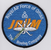 RAFO Patch Sqn Royal Air Force Of Oman 18 Squadron F 16 JDAM Mis