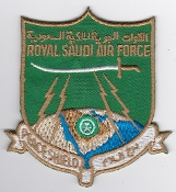 RSAF Patch Radar Royal Saudi Air Force Peace Shield Air Defence