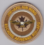 RCAF Patch Wing Royal Canadian Air Force JTF AFG Air Wing Kandah