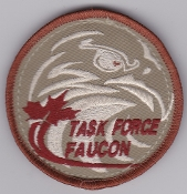 RCAF Patch Wing Royal Canadian Air Force Afghanistan TF Faucon