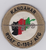 RDAF Patch Royal Danish Air Force 721 Esk Squadron C130 Kandahar