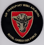 RDAF Patch Royal Danish Air Force 721 Esk Squadron Transport Wg