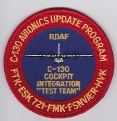 RDAF Patch Royal Danish Air Force 721 Esk Squadron C 130 AUTT