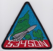 RDAF Patch SAM Royal Danish Air Force Eskadrille 534 Sqn Hawk