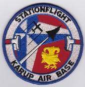 RDAF Patch Station Royal Danish Air Force Karup Station Flight