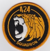 RCAF Patch Sqn Royal Canadian Air Force 424 Transport Rescue Sqn