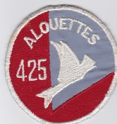 RCAF Patch Sqn Royal Canadian Air Force 425 Squadron F 101 TFS