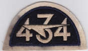RCAF Patch Sqn Royal Canadian Air Force 434 Fighter Squadron 50s