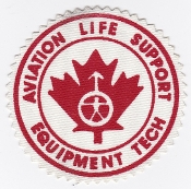 RCAF Patch Spt Royal Canadian Air Force Life Support Eqip Tech