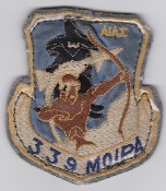 Greek Patch Hellenic Air Force 339 MOIPA AW Squadron Phantom