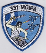 Greek Patch Hellenic Air Force 331 MOIPA AW Squadron Mirage 2000