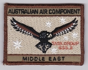 RAAF Patch Cmd Royal Australian Air Force Task Group 633