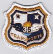 Spanish Patch Air Force Ejercito Del Aire Ala 35 Transport C 295