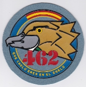 Spanish Patch Air Force Ejercito Del Aire 462 Esc Squadron AD
