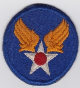 US Army Air Force Patch United States AAF 1942 Fully Embroidered