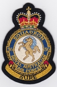 RAAF Patch Sqn Royal Australian Air Force b 36 Squadron Crest