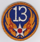 US Army Air Force Patch United States 13 AAF Pacific Islands