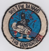 USAF Patch Fighter Vietnam 366 TFW Tactical Ftr Wing Da Nang AB
