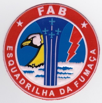 Brazilian Air Force Patch Forca Aerea Brasileira FAB Display