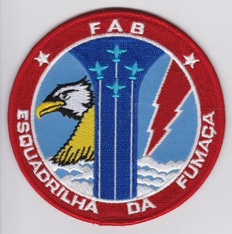 Brazilian Air Force Patch Forca Aerea Brasileira FAB Display Lge
