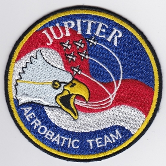 Indonesian Air Force Patch TNI AU Jupiter Aerobatic Team